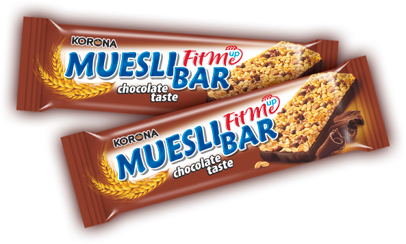 Muesli bar chocolate taste