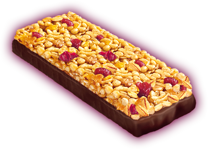 Muesli bar cranberry