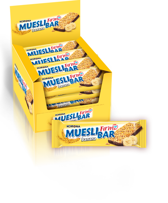 Muesli bar banana