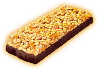 Muesli bar orange